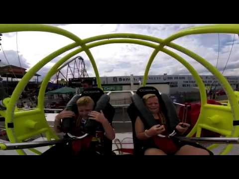 Skegness bungee ball