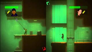 Bionic Commando Rearmed PC [ Gameplay ] Co-op ( 2 players ) con TPG