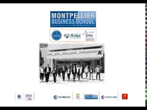 Montpellier Business School 2016-2017 | Study in france | Join In Campus