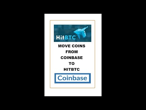 How to Transfer from CoinBase to HITBTC