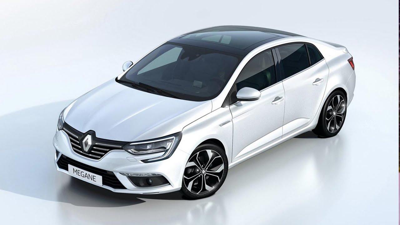 Renault Megane Sedan Unveiled Youtube