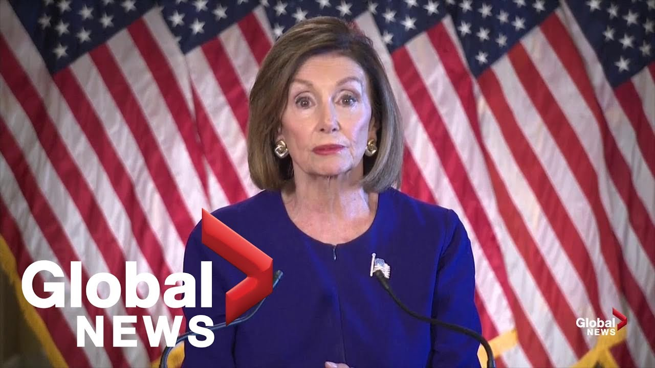 U.S. Speaker Nancy Pelosi announces formal impeachment inquiry of Donald Trump | FULL