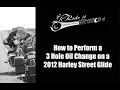How to Change the Oil on a 2012 Harley Davidson Street Glide