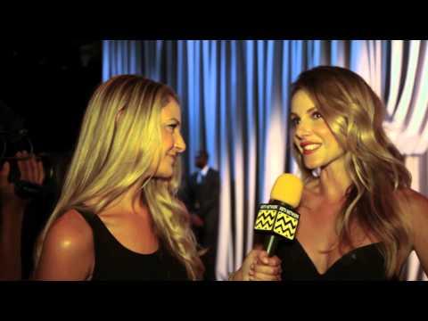 AfterBuzz TV s Monet Mazur @ New York Fashion Week September 8th, 2012
