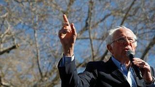 Gambar cover Sanders leading polls heading into Nevada caucuses