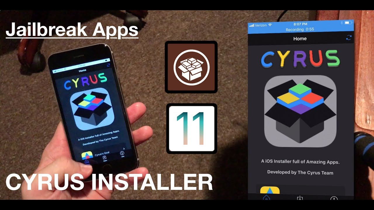 Install Jailbreak Apps Without Jailbreaking iOS 11: Cyrus!