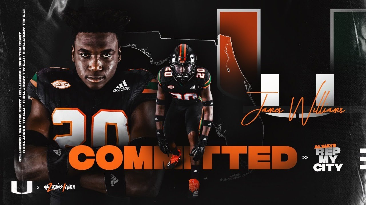 James Williams Commits to the Miami Hurricanes (LIVE SHOW)