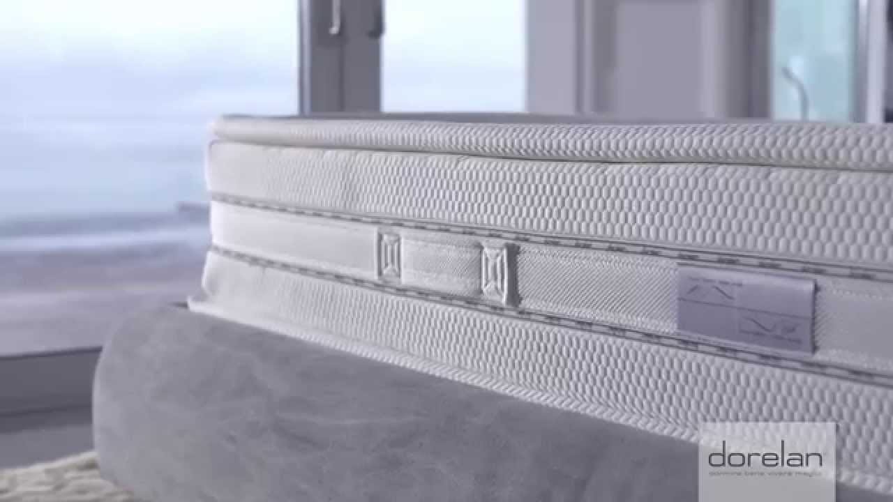 Materasso Kristal Comfort Suite by Dorelan - YouTube