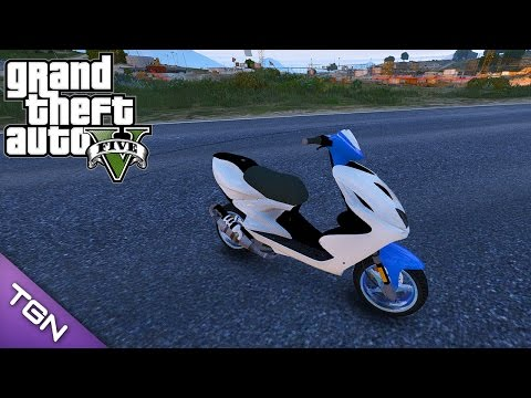 GTA V - Yamaha Aerox (Download)