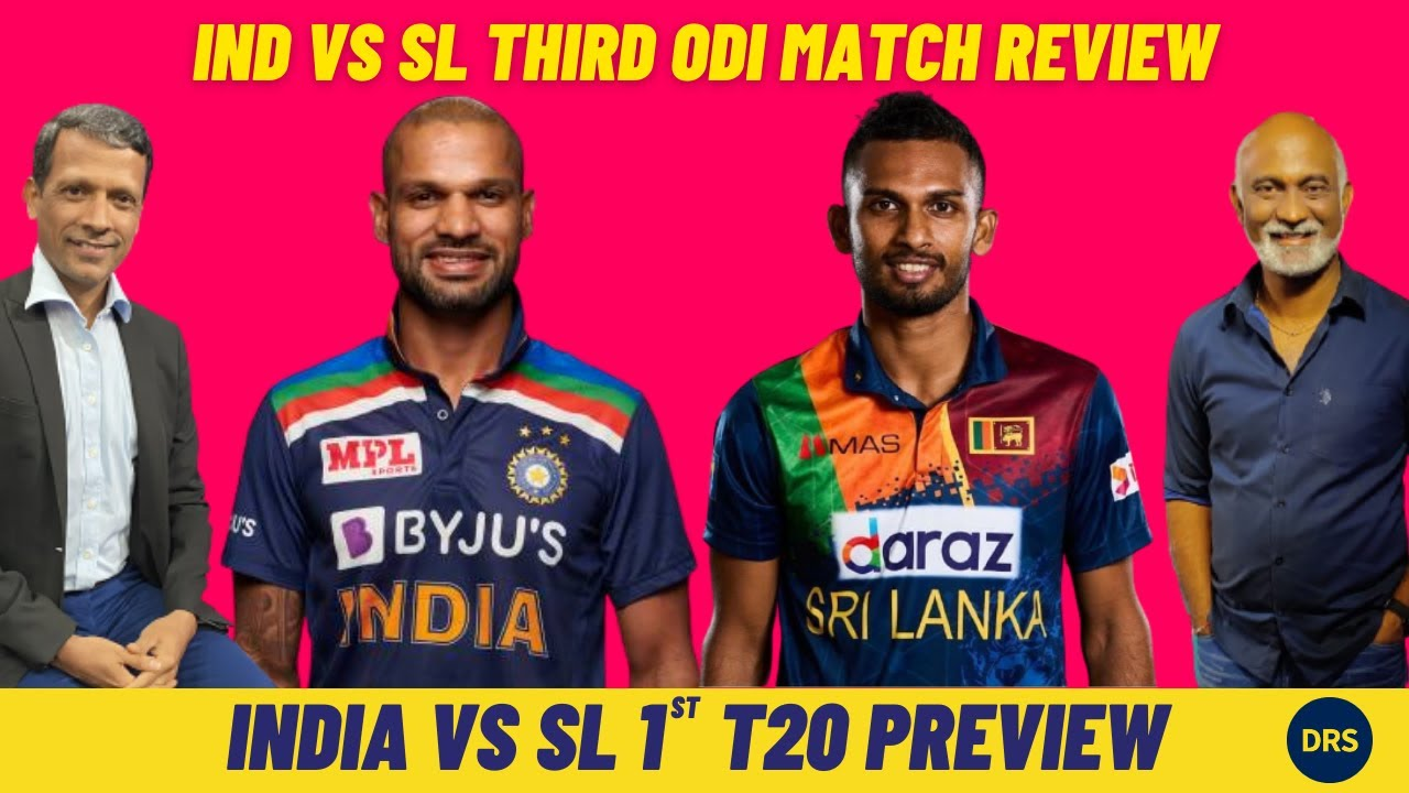 India vs Sri Lanka 3rd ODI Review and 1st T20 Preview | The Dressing Room Show
