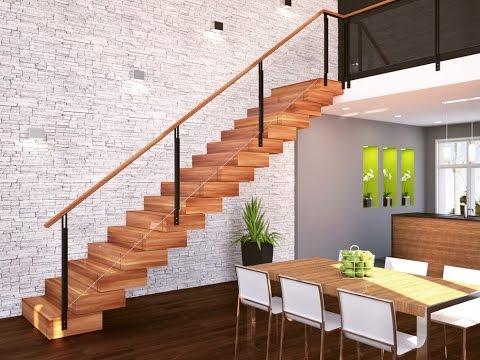 Дизайн лестницы в частном доме (31 фото)