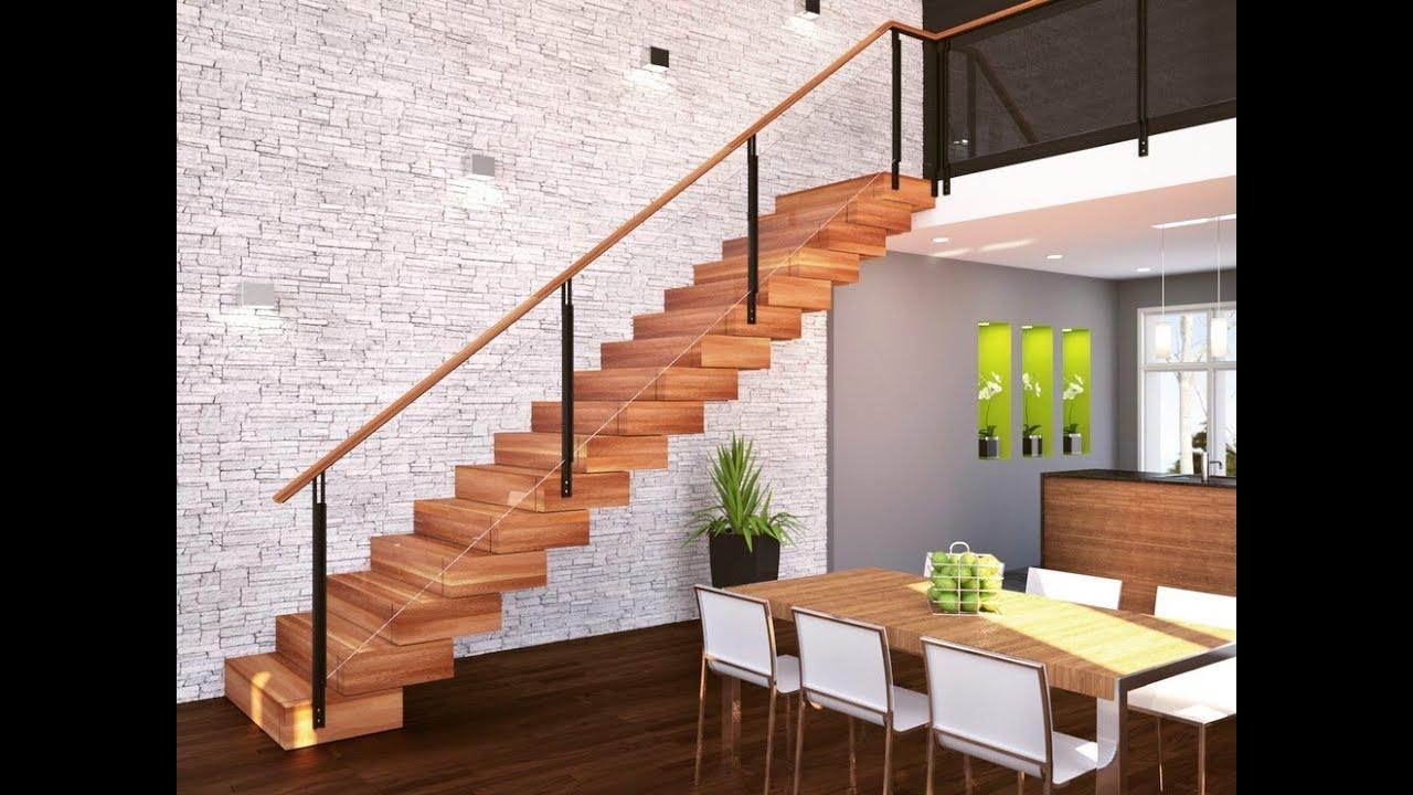 Дизайн лестницы в частном доме (31 фото) - YouTube