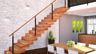 Дизайн лестницы в частном доме (31 фото)(, 2015-06-29T06:09:15.000Z)