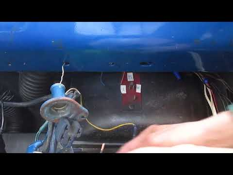 1966 mustang heater blower test (no tools) youtube 66 mustang heater motor wiring diagram