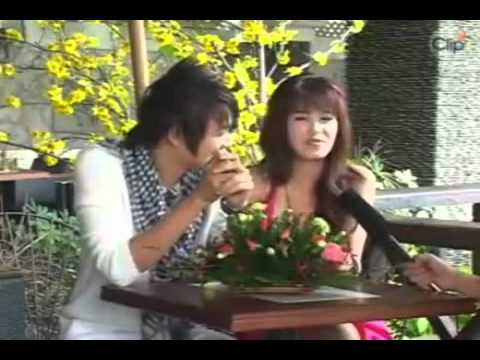 [HQ] Dong Nhi and Ngo Kien Huy Tet 2009 Interview.mp4