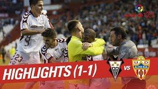 Resumen de Albacete BP vs UD Almería (1-1)
