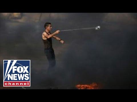 Protests continuing at Israel-Gaza border