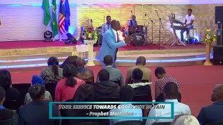 Your service towards God is not in vain - Prophet Martinien