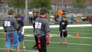 crusaders vs grey hawks i9 sports flag football may 19th 2013