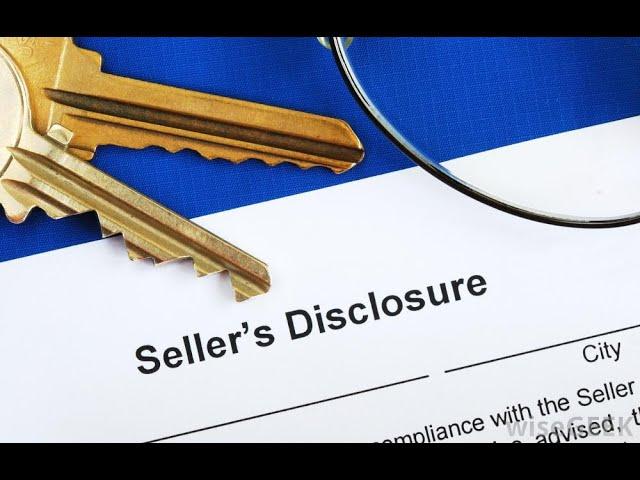 Real Estate Seller's Property Disclosures In Parker Colorado