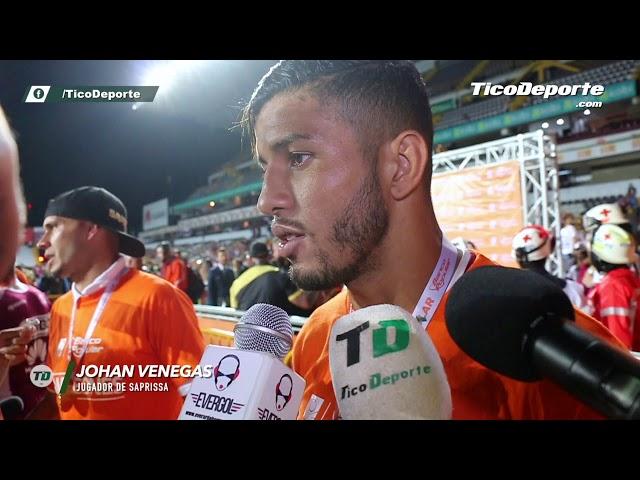 """Johan Venegas: """"Fue una temporada difícil"""""""