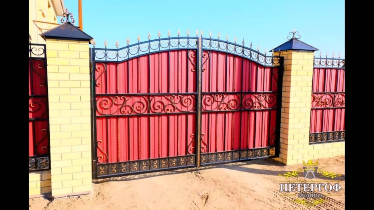 [ФОТО] Кованые ворота для дома в Екатеринбурге, Челябинске ...