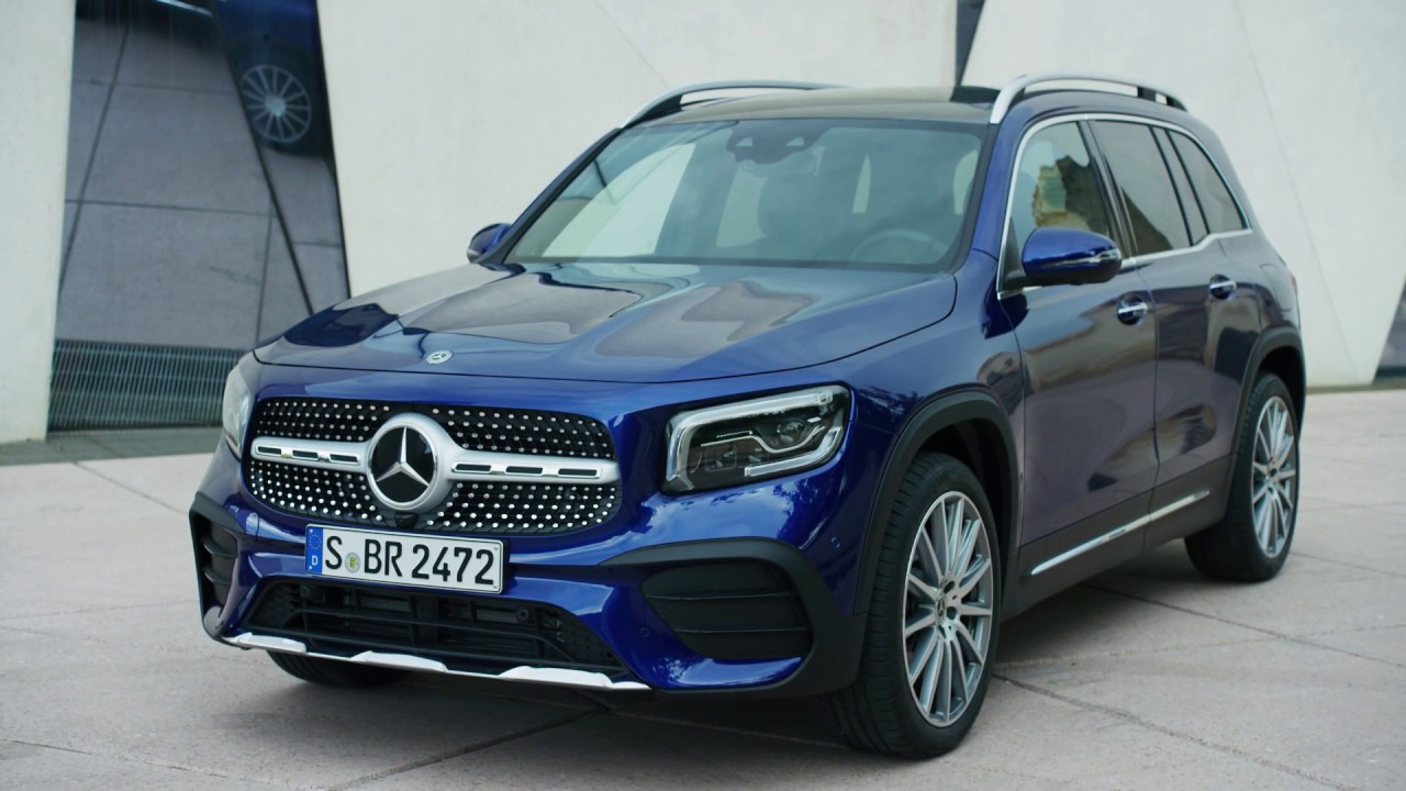2020 Mercedes Glb Footage Design