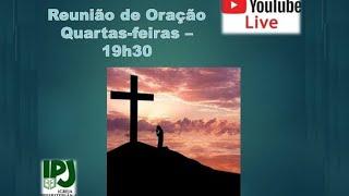 Reunião de Oração Online 02 de setembro de 2021