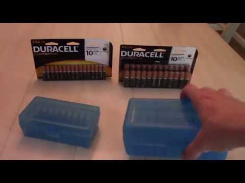 How To Properly Store Batteries