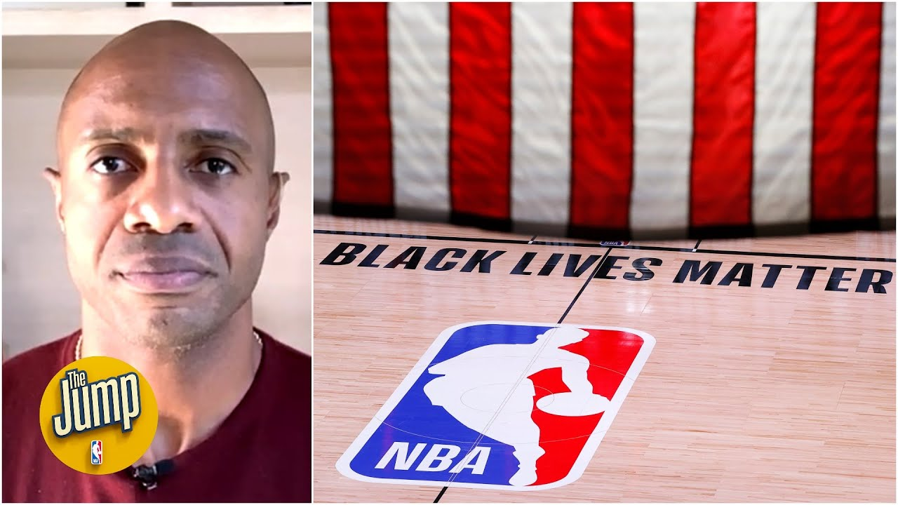 Reaction to NBA postponing Wednesday's playoff games after shooting of Jacob Blake | The Jump