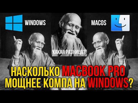 Насколько Macbook Pro 16 мощнее компьютера на Windows при работе с видео в 4К?