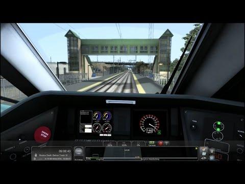 TS2015 HD: Amtrak Acela Express Train 2190 Cab Ride (New Haven Union Station - Boston South Station)