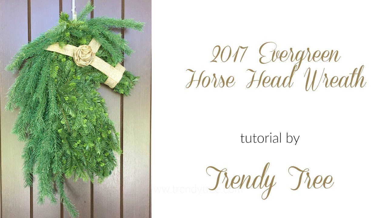 2017 rose gold welcome wreath tutorial
