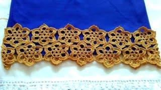 Плаття гачком з мотивів, зразок. Dress, sarafan, crochet..