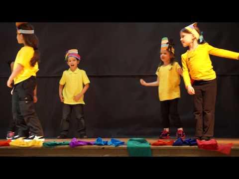 K002 The World Is a Rainbow PSMS278 Paula Hedbavny School Group 1