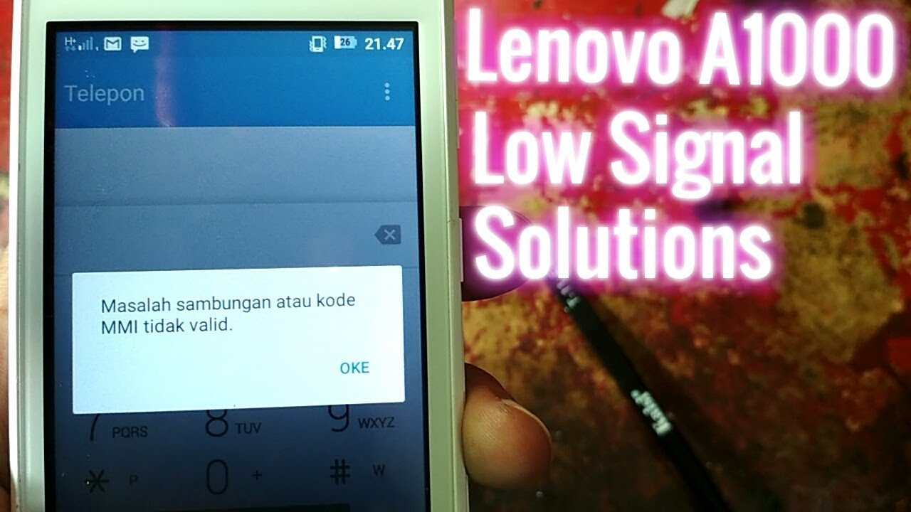 Lenovo A1000 APN settings & network compatibility in India