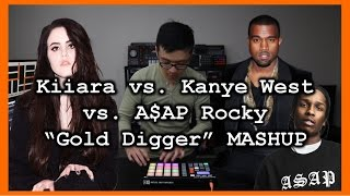 Kiiara - Gold (Remix) / Kanye West - Gold Digger MASHUP
