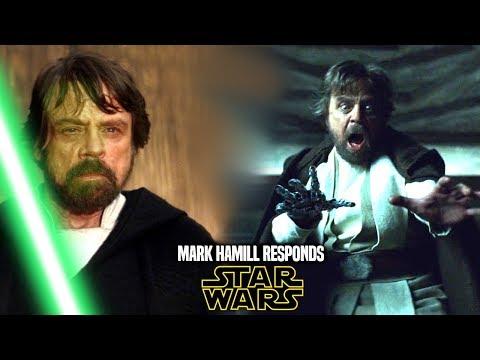 Star Wars! Mark Hamill Responds To This Big Problem (Star Wars News)