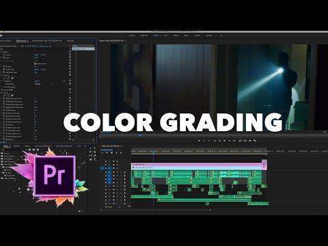 Color Grading My Short Film In Adobe Premiere!
