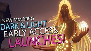 New MMORPG Dark And Light Early Access Launches Today!! Come Join Us!