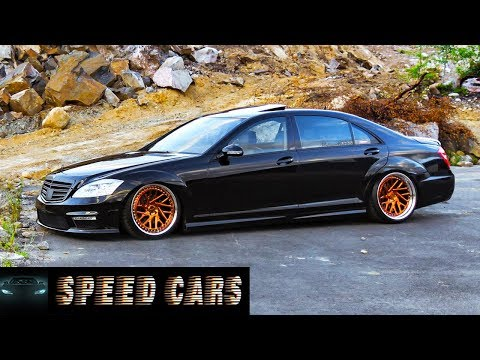 Mercedes Benz S63 AMG W221 Brutal Acceleration Burnout And Exhaust Sound