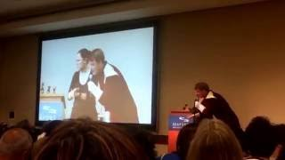 Little girl asks John Barrowman if he is really gay! FUNNY!