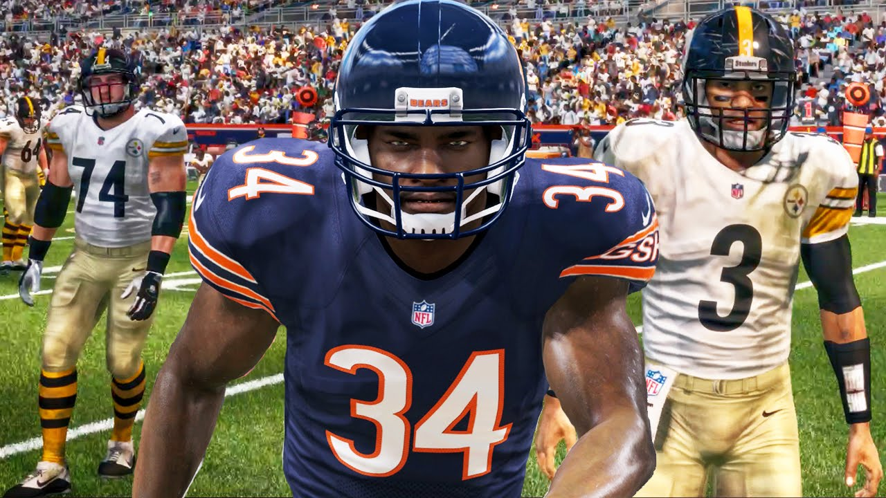 release date d4ac7 da2ac WALTER PAYTON & GLITCHED UNIFORMS! Madden 16 Ultimate Team Gameplay Ep. 22