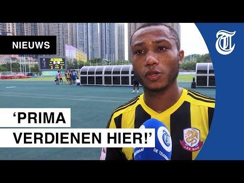 Dit Nederlandse voetbaltalent casht nu in Hongkong