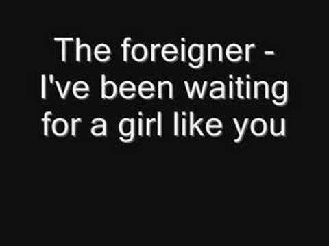 Foreigner - I've Been Waiting For A Girl Like You (HQ Audio)