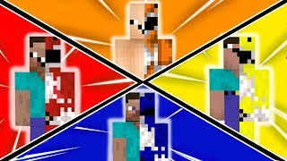 NOOBS SE TRANSFORMAM EM POWER RANGERS (MINECRAFT)