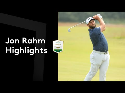Jon Rahm shoots a front nine 29 to lead in Scotland |Round 2 Highlights | 2021 abrdn Scottish Open