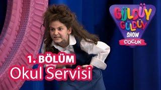 Güldüy Güldüy Çocuk 1.Bölüm, Okul Servisi Skeci
