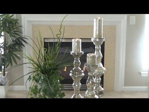 diy elegant tall candle holders