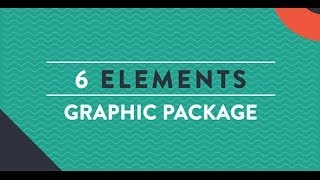 Looping Background And Lower Thirds Pack After Effects Template